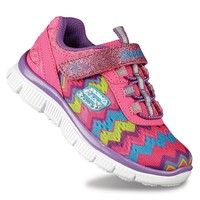 Skechers Skech Appeal Ziggy Toddler Girls' Athletic Shoes (Green)