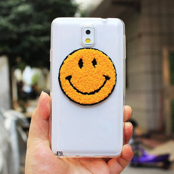 Plush Emoji Samsung Phone Cases