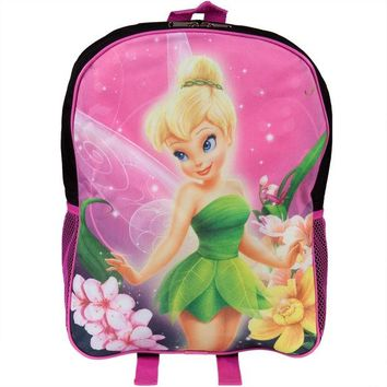 DCCKU3R Tinkerbell - Tink In Flowers Medium Backpack