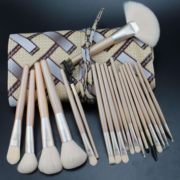 20Pcs White Luxury Makeup Brush Sets [9647074191]