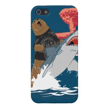 Bear Shark Escape Cases For iPhone 5 from Zazzle.com
