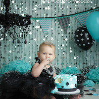 Breakfast at Tiffany's Sweetheart Tutu Dress- Audrey Hepburn, Black, Flower Girl, Wedding, Pageant, cake smash, Birthday, Girl, Toddler