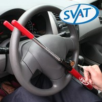 Magnasonic AUTOLOCK200 Auto Steering Wheel Security Lock Vehicle Anti-Theft Device for Cars, Pickup Trucks, Minivans & SUVs