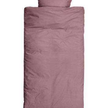 H&M Cotton Duvet Cover Set $24.99