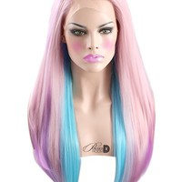 Candy Delight Lace Front Wig - Powder Room D