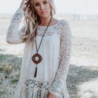 Secret Lace Layering Tunic