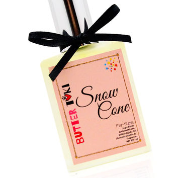 SNOW CONE Fragrance Oil Based Perfume 1oz