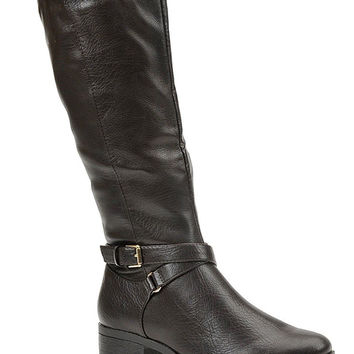 Madeline Tiffy Tall Dark Brown Boots