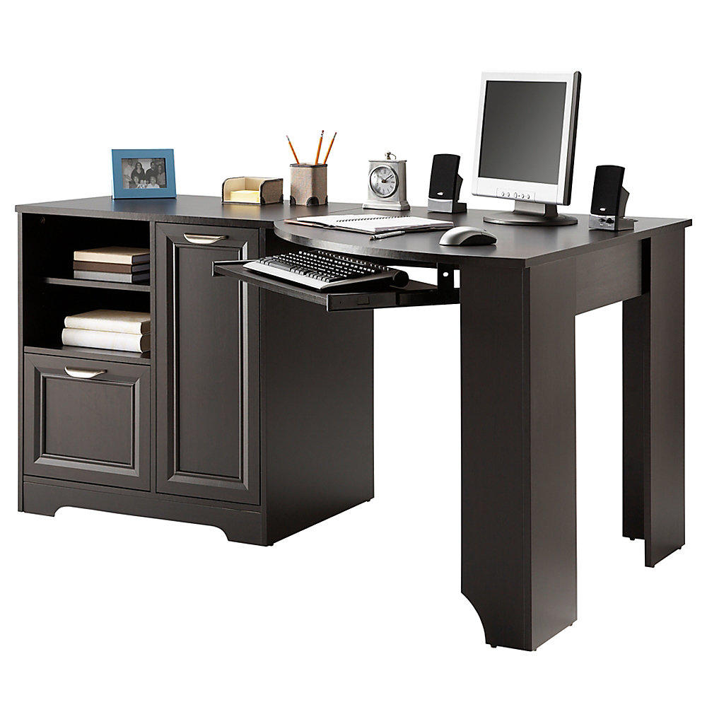 Realspace magellan collection corner desk from office depot - Corner office desk ...
