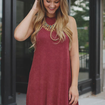 Made to Move Dress - Marsala