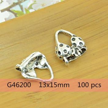 Swimming Pool beach underwear/swimming suit/scarf/socks/gloves shape antique silver alloy charm DIY pendant vintage jewelry accessories findings hotSwimming Pool beach KO_14_1