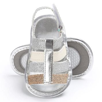 Kids Baby girls boys sandals Infant Kids Girl Soft Sole Crib Toddler Newborn Sandals Shoes summer shoes
