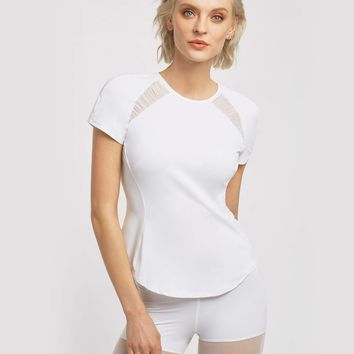 Michi Birdie Top - White