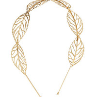 Hairband with Leaves - from H&M