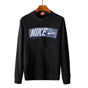 VONEB7T Nike round collar hoodie lovers and men's and women's leisure cotton long-sleeved t-shirts top G-A-GHSY-1