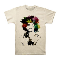 Jimi Hendrix Men's  Watercolor T-shirt Vintage Rockabilia