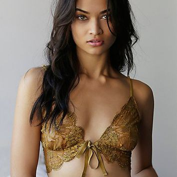 SKIVVIES by For Love & Lemons Womens Honeysuckle Bralette