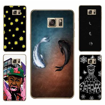 Case For SamSung Galaxy Note3 S8 S7 S6 S8 Plus Hard PC Fower Mobile phone shell Cute Animal Silicone Telephone Case Covers Cute