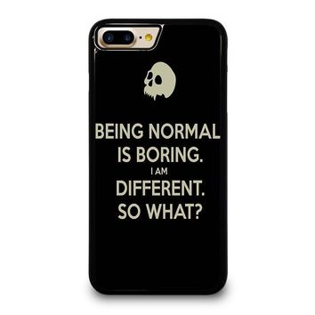 NORMAL IS BORING QUOTES iPhone 7 Plus Case Cover