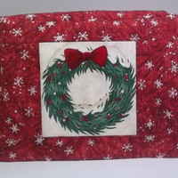 2 Slice Toaster Cover - Christmas Wreath
