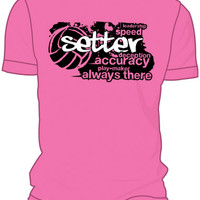 Midwest Volleyball Warehouse - Pink Setter T-Shirt