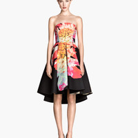 Circle-skirt Bandeau Dress - from H&M