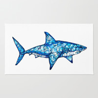 Shark Rug by Kate Fitzpatrick