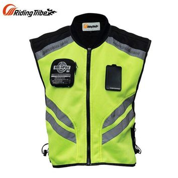 ac NOOW2 Riding Tribe Reflective Desgin Waistcoat Clothing Motocross Off-Road Racing Vest Motorcycle Touring Night Riding Jacket