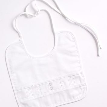 Infant Little Things Mean a Lot Sateen Bib