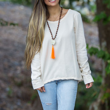 Buddy Basics-Beavercreek Top-Ivory