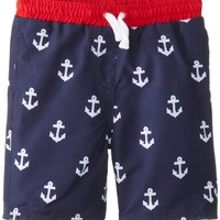 Egg by Susan Lazar Baby Boys' Anchor Print Board Short