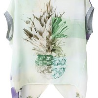 Flimsy Pineapple Blouse - OASAP.com