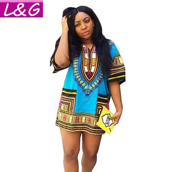 African Tunic Punk Traditional Dress
