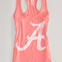 AEO 's Alabama Neon Vintage Tank (Orange Flare)