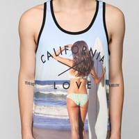 California Love Mesh Tank Top - Urban Outfitters