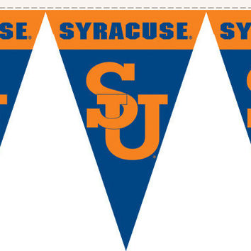 Syracuse Orange 50 Ft. Party Pennant Flags