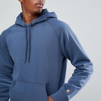 Carhartt WIP Chase Hoodie In Blue at asos.com