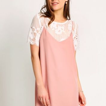 Kensington Lace Slip Dress