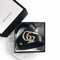 shosouvenir : GUCCI Woman Fashion Smooth Buckle Belt Leather Belt