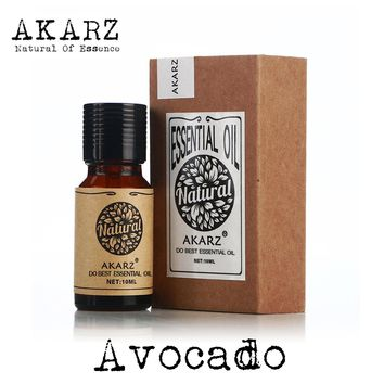 AKARZ Famous brand natural aromatherapy avocado oil Increase skin elasticity Promote hair growth To wrinkle