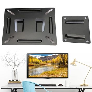 RC Turtle® - Cewaal Premium 12 inch To 24 inch LCD LED Plasma Monitor TV Screen Wall Stand Bracket Holder Support Flat Panel TV Accessories