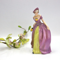 Goebel Figurine / Southern Belle / German / Hand Painted Porcelain / Collectible