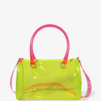 Neon Boston Bag