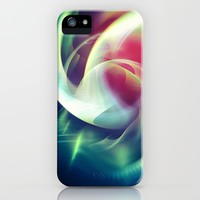 Abstract Art XIII iPhone Case by tmarchev
