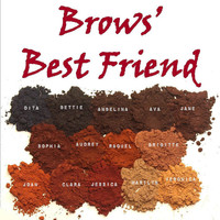 Mineral Makeup Brow Powder Mini 3g...YOUR CHOICE of Shade. Brow Powder for Dramatic Eye Brows. Vegan.