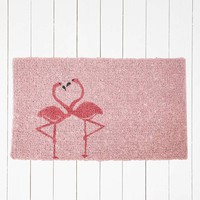 Flamingo Door Mat - Urban Outfitters