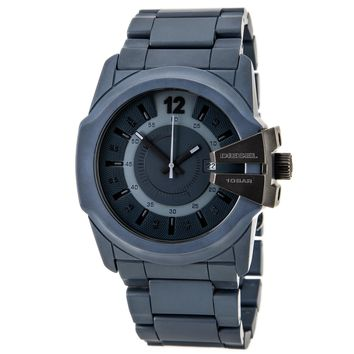 Diesel DZ1517 Men's Blue Ceramic Bracelet Blue Dial Quartz Watch