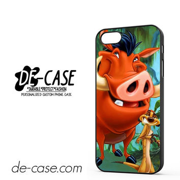 Timon And Pumba DEAL-11255 Apple Phonecase Cover For Iphone 5 / Iphone 5S