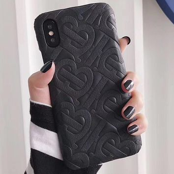 Perfect Burberry Phone Cover Case For iphone 6 6s 6plus 6s-plus 7 7plus 8 8plus iPhone X XS XSmax XR