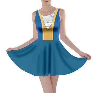 Beast Beauty and the Beast Inspired Skater Dress
